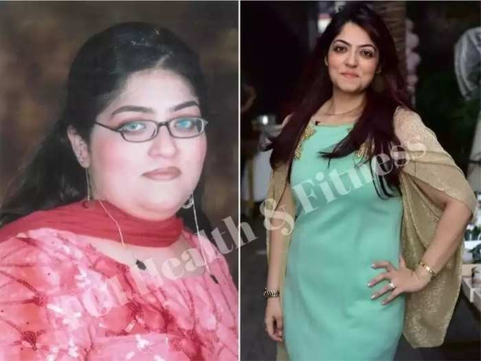 weight loss journey banker renuka vaswani lost 43.5 kilograms weight by following diet and workout plan in marathi