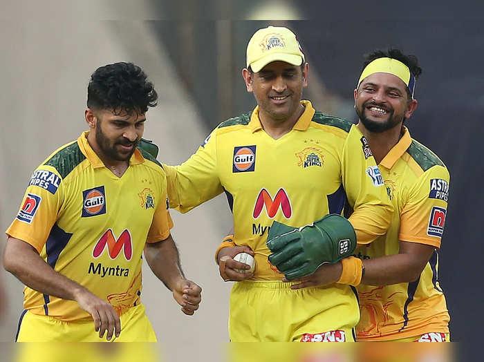 चेन्नईचे खेळाडू (फोटो-बीसीसीआय)