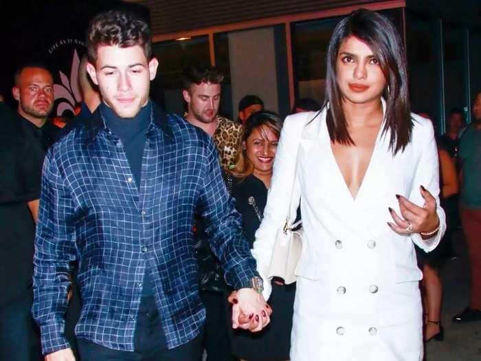 priyanka chopra brutally trolled for glamorous blazer look designed by victoria beckham in marathi