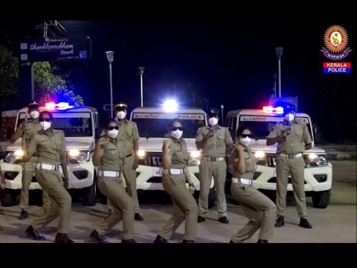Kerala Police Enjoy Enjaami song