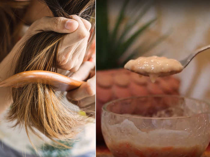 easy home remedies and tips to get rid of split ends