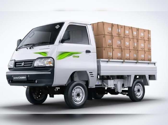 2021 Maruti Suzuki Super Carry mini truck