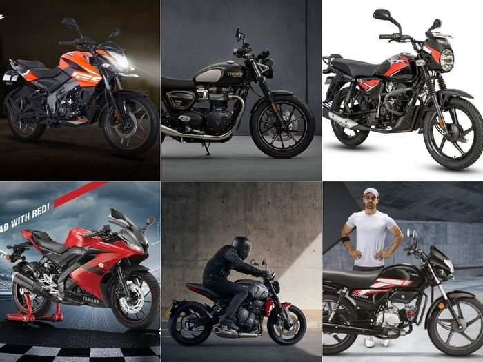 hero hf 100 to bajaj pulsar ns125 to bajaj ct110x to 2021 triumph bonneville street twin to triumph trident 660 to yamaha r15 v3 here are six latest motorcycles that launched in april 2021