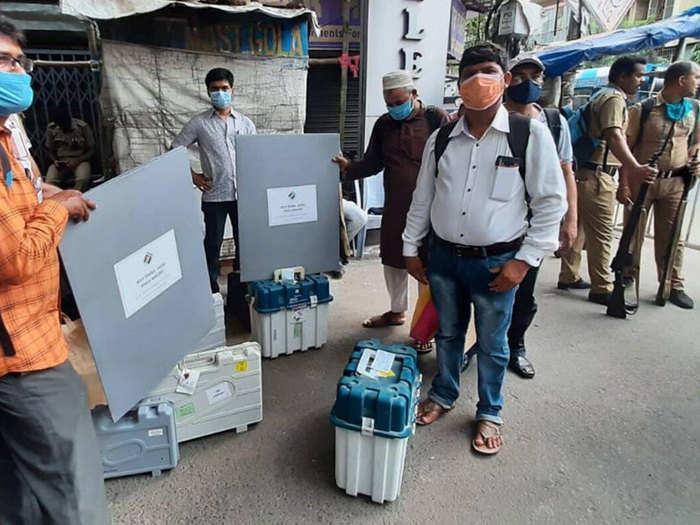 बंगाल में मतगणना की पूरी तैयारी