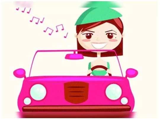 तिचं ड्रायव्हिंग!