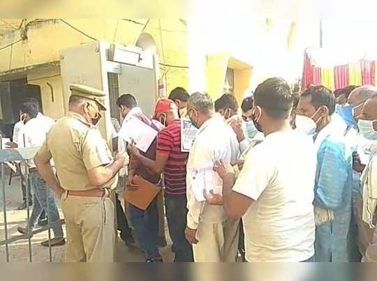 गाजियाबाद: भारी सुरक्षा के बीच त्रिस्तरीय पंचायत चुनाव की मतगणना शुरू