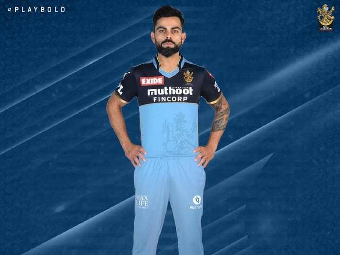 RCB in Blue Jersey IPL 2021