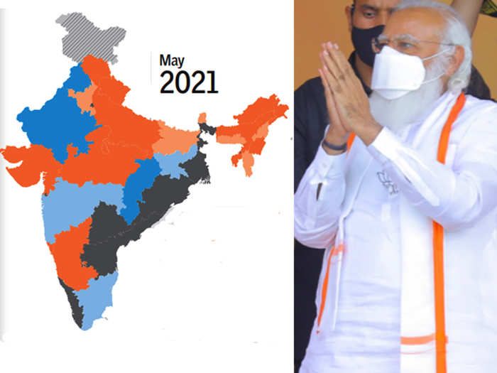 west bengal tamilnadu assam kerala assembly election 2021 result shock for bjp after modi wave bjp hold strong position in state power