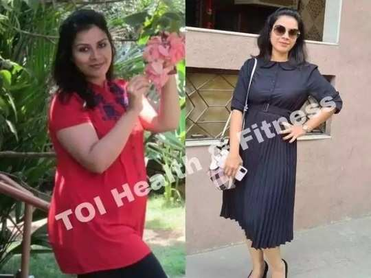 real weight loss story this woman lost 19 kilograms weight by drinking cumin and fennel seeds water in marathi