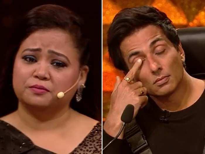 Bharti Singh Gets Emotional