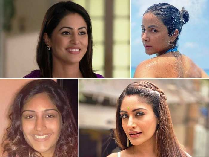 then and now: hina khan to surbhi chandna and mouni roy, 11 tv actresses whose transformation is beyond words