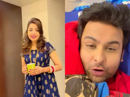 Sugandha mishra sanket bhosale video: Sugandha Mishra Sanket Bhosale marriage: Sanket Bhosale has shared a video which is grabbing people's attention.  - Navbharat Times