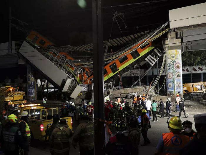 Mexico-city-metro-accident
