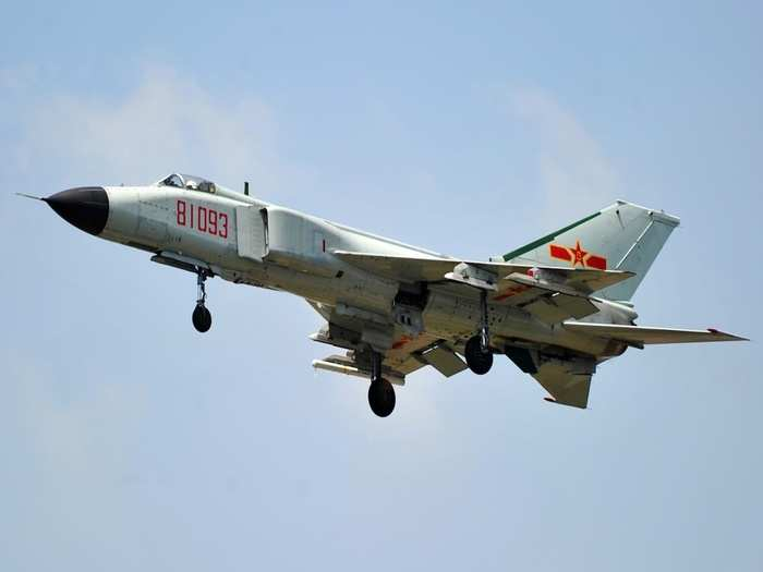China J-8 Fighter Jet 01
