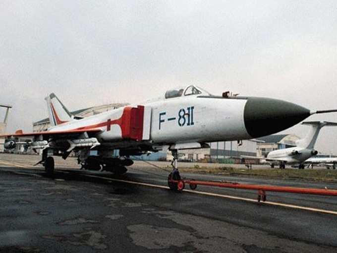China J-8 Fighter Jet 03