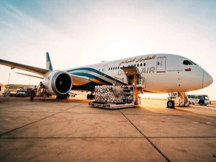 Oman air Twitter