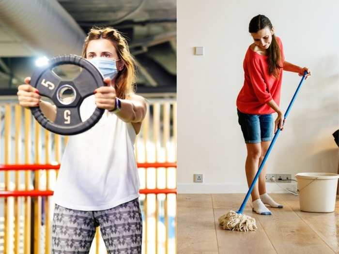 weight loss at home and reduce fat by these 5 household chores
