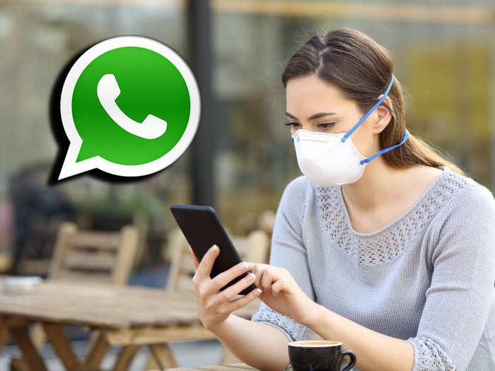 whatsapp vaccination centre search
