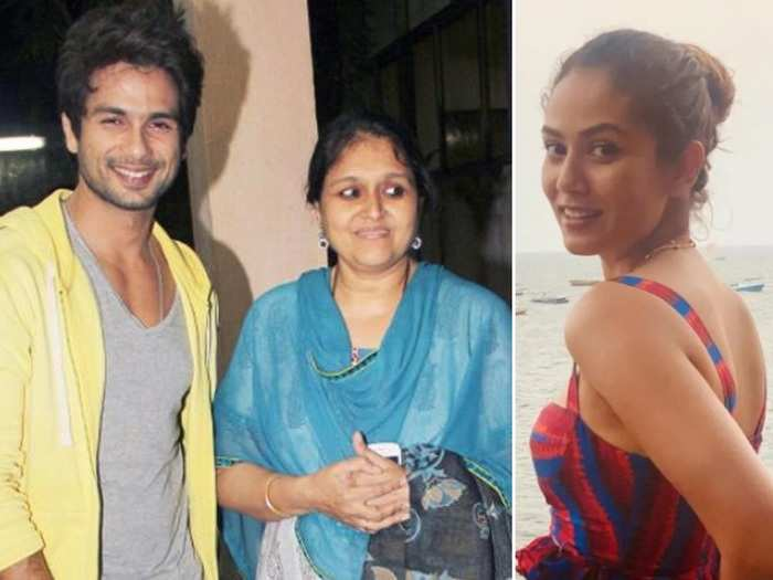 supriya pathak reveals about her relationship and love with stepson shahid kapoor and mira rajput