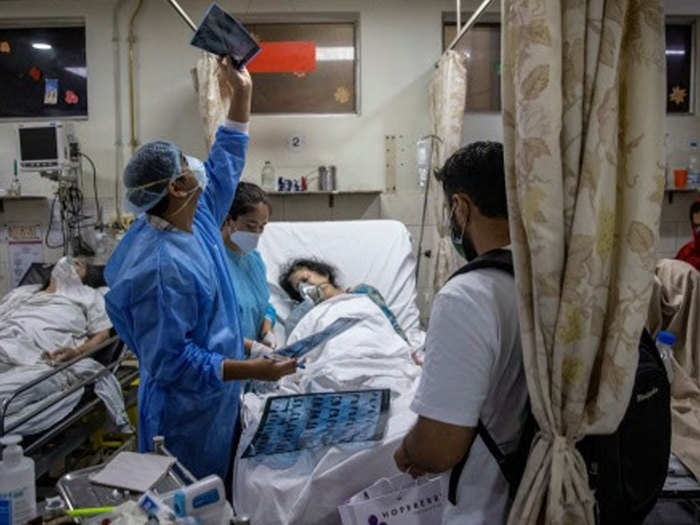 who to be saved who not to be saved story of a doctor shows severity of covid-19 pandemic in india