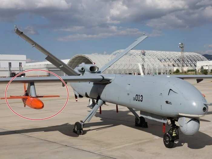 Simsek unmanned target drone 01