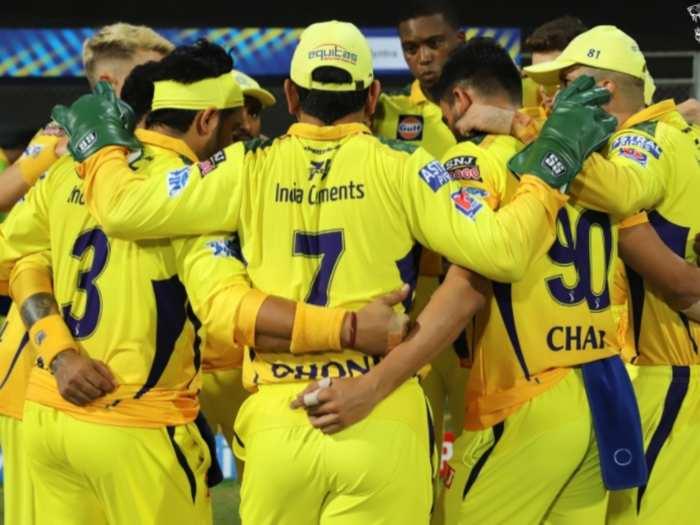 चेन्नई सुपरकिंग्स टीम