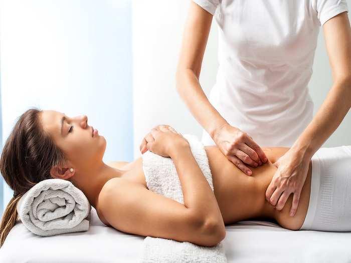fertility massage benefits in hindi