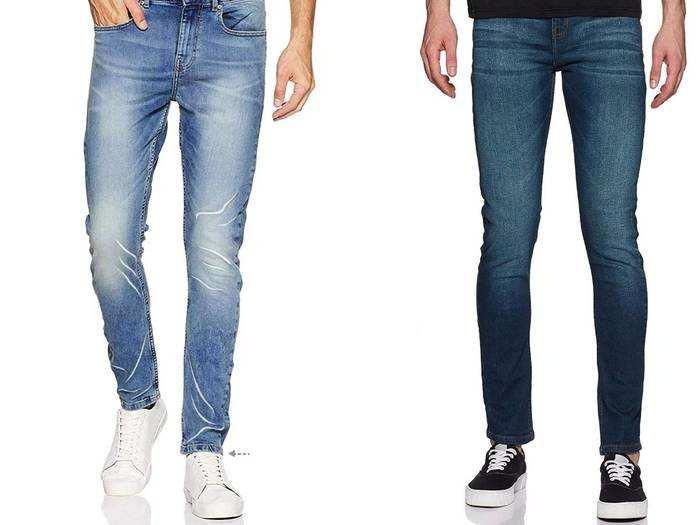Jeans : हाई क्वालिटी के स्लिम फिट और रेगुलर फिट जींस हैवी डिस्काउंट पर खरीदें