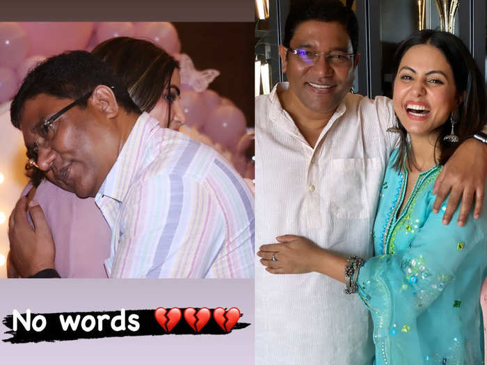 hina khan gets emotional remembering her late dad says no one like you will always miss you