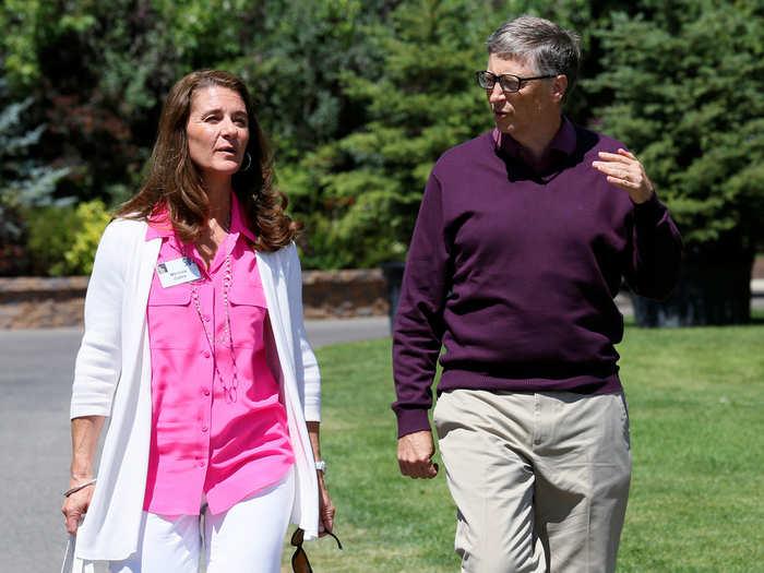 पत्नी मेलिंडा से तलाक ले रहे हैं बिल