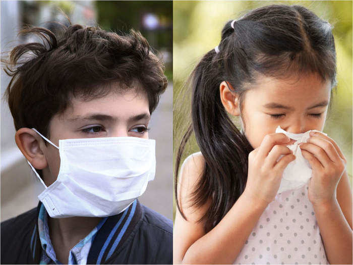 how to know cold is not covid symptom in hindi