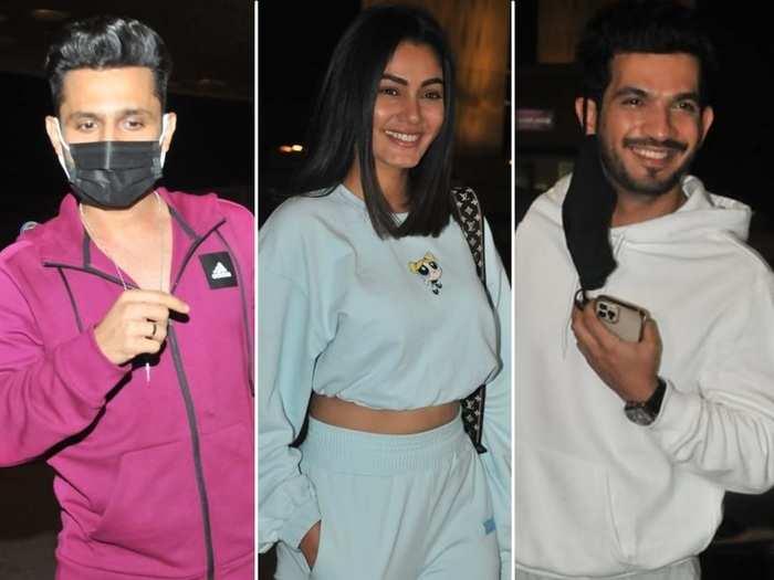 khatron ke khiladi 11: rahul vaidya to sana makbul 11 confirmed contestants leaves for cape town