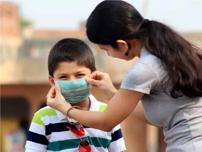 how to take care of covid positive child at home in hindi