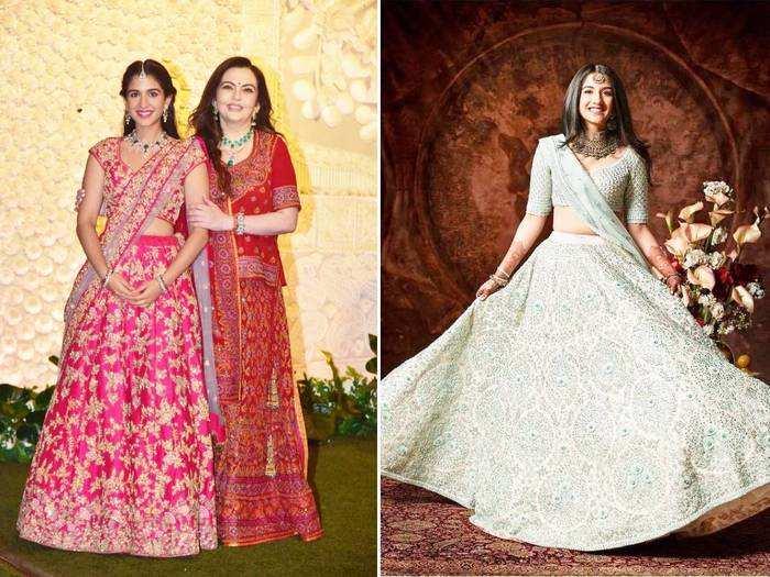 nita ambani choti bahu radhika merchant looks gorgeous in white lehenga for armaan jain anissa malhotra wedding