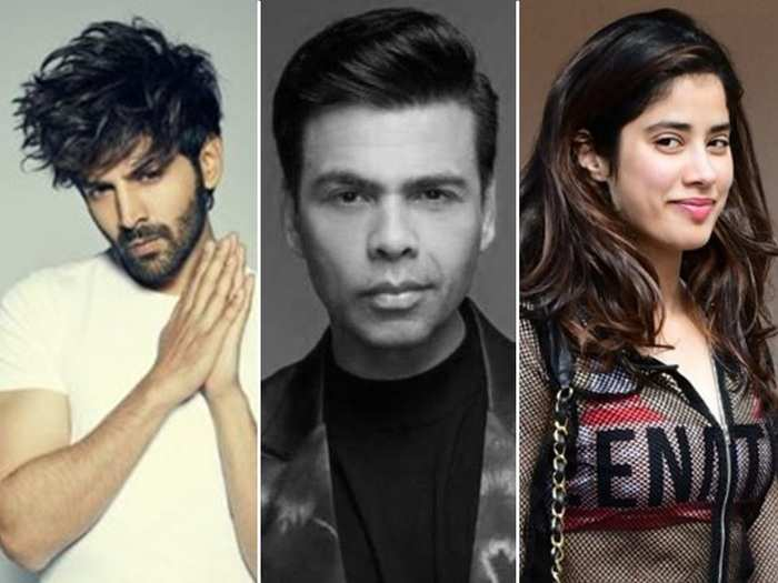 is kartik aaryans ouster from dostana 2 is the outcome of his ugly fight with janhvi kapoor