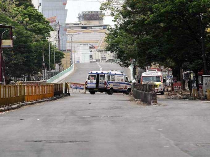 Complete lockdown in Tamilnadu