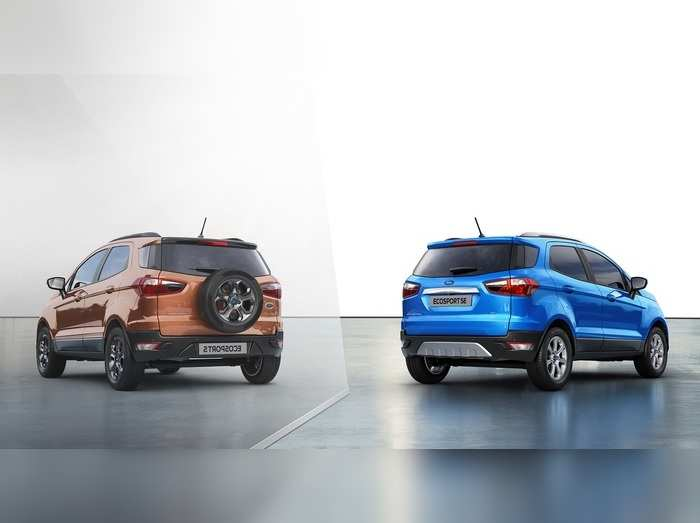 Ford EcoSport SE and EcoSport S