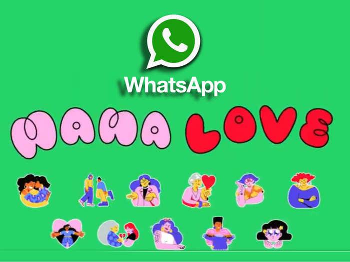 WhatsApp Mama Love sticker pack
