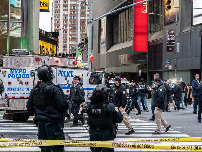 shooting incident in Times New York