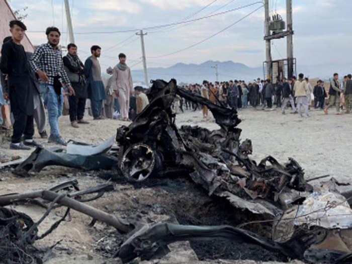 blast near school in afghanistan capital kabul, 40 dead