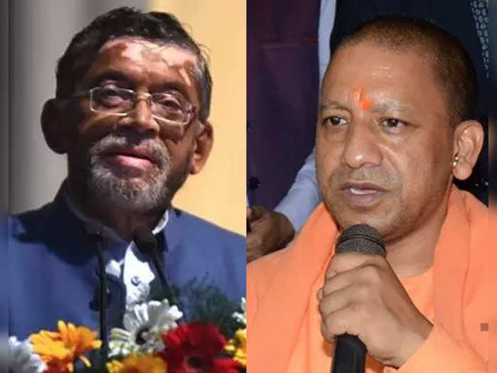 santosh gangwar - yogi adityanath