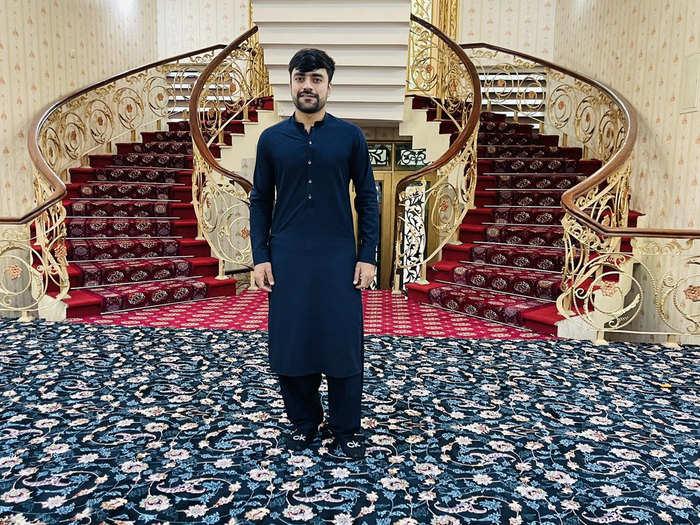 Rashid Khan Luxury Home: राशिद खान का अफगानिस्तान में ऐसा लग्जरी घर, क्रिकेटर बोले- यह तो शानदार होटल है