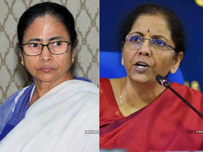 mamata banerjee - nirmala sitharaman