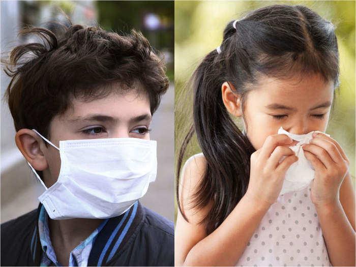 how to identify covid19 symptoms in children in marathi