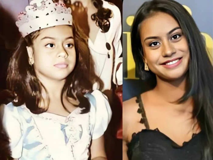 ajay devgn kajol daughter nysa devgn amazing transformation here is her then and now photos
