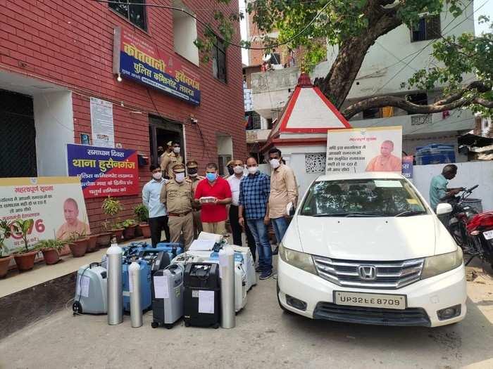 Lucknow News: ऑक्सिजन कंसंट्रेटर के लिए हर हफ्ते वसूलता था 40 हजार किराया, एक अरेस्ट