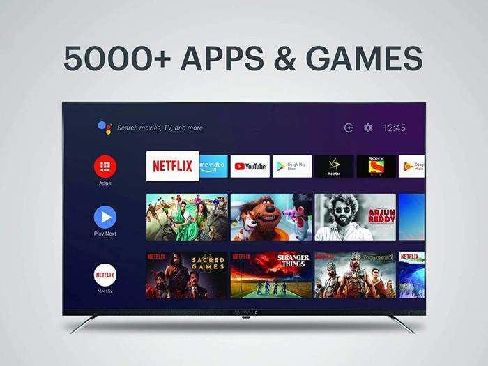 मात्र 28,999 रुपए में खरीदें 50 inch की 4K Ultra HD Smart TV, जल्दी करें