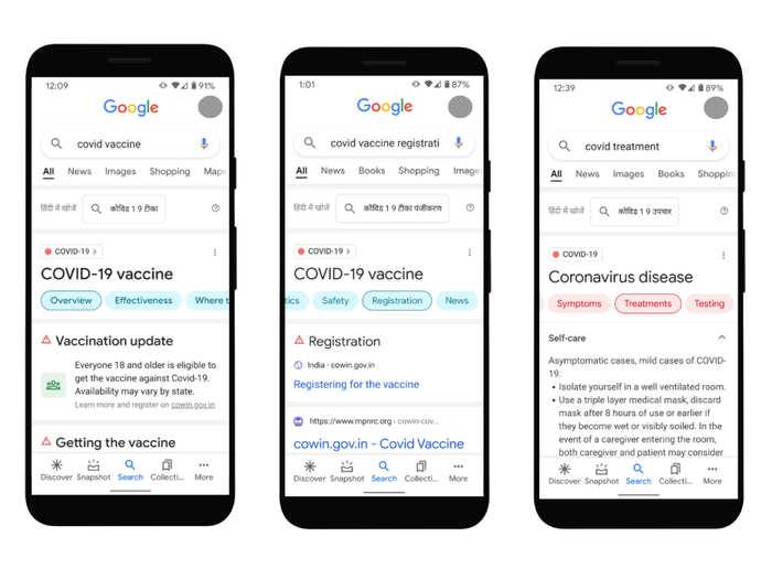 Covid 19 Google Search