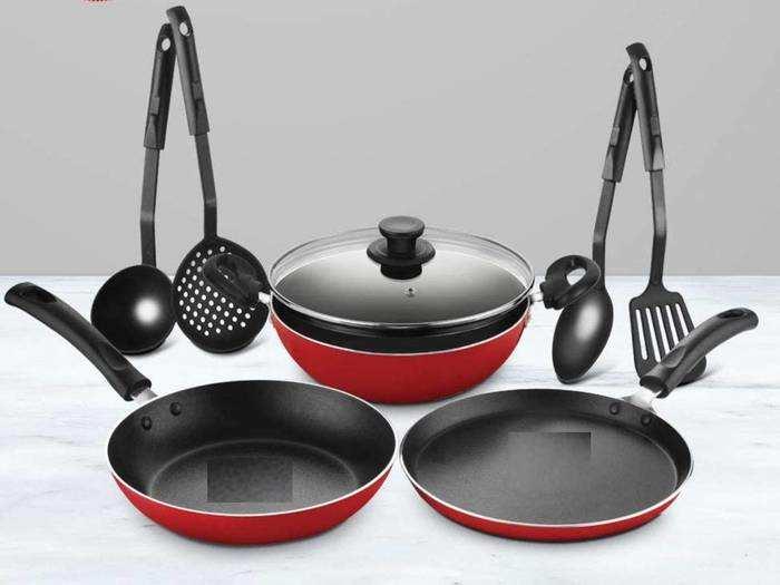 74% तक की महाबचत पर खरीदें ये ब्रांडेड Cookware Set