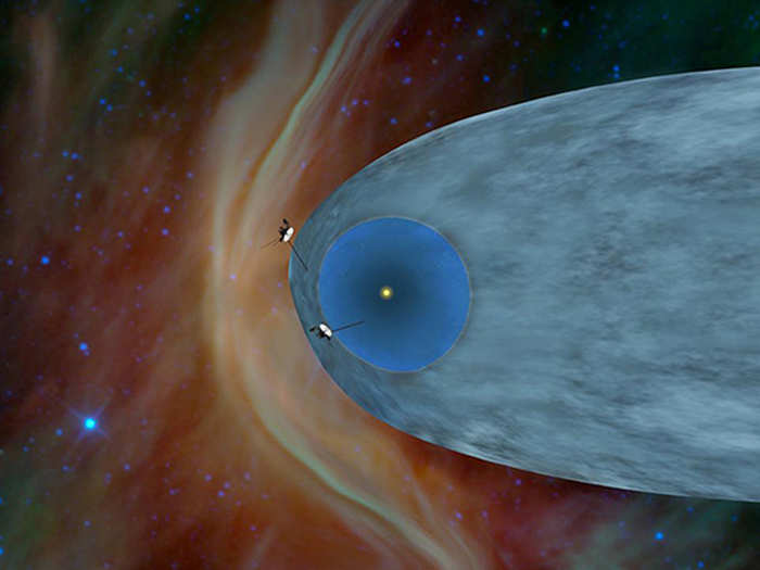 signal for hum sound of universe sent by voyager1 of nasa
